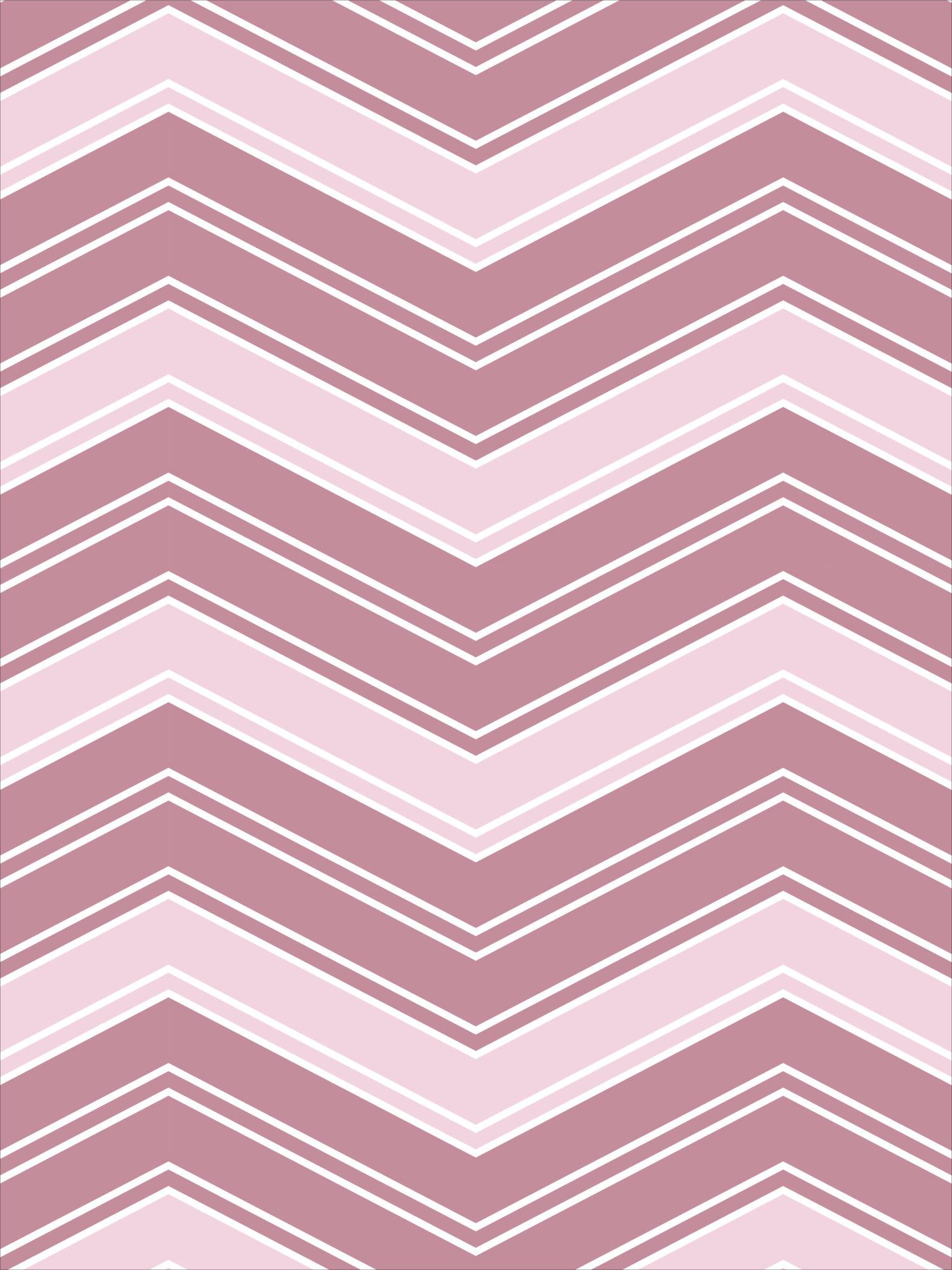 ZigZag | Linen | Pink