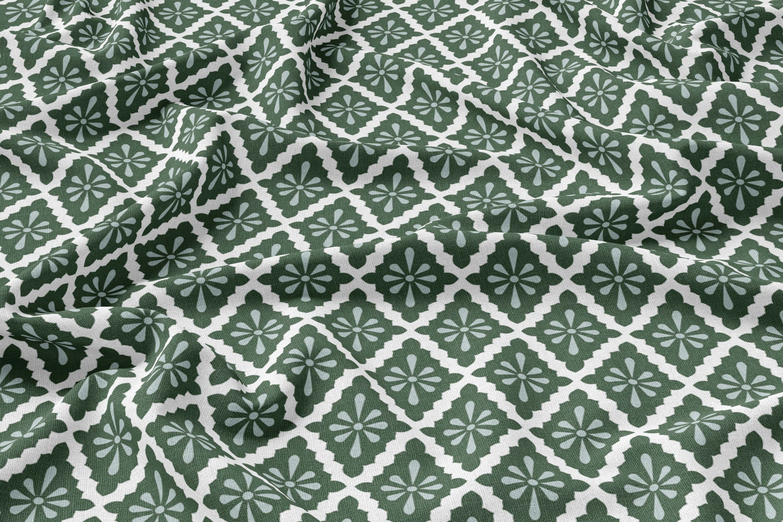 Diamond | Linen | Green