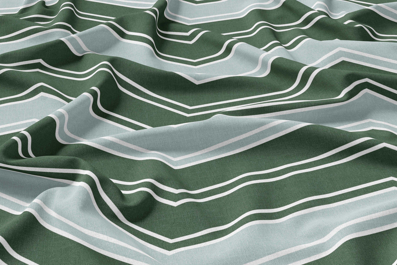 ZigZag | Linen | Green